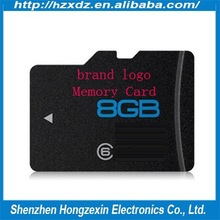 Chinese Factory 100% Full Capacity 8GB memory sd card low price