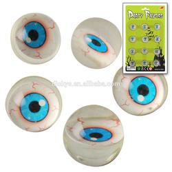Halloween promotional plastic eyed bouncy ball/rubber ball