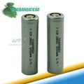 De alta potência capacidade 3.7v 18650 3000 mah li-ion recarregável bateria