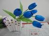 artificial iris flower silk flowers