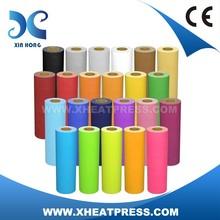 Glitter Heat Transfer Vinyl Various colors For T-shirt Transfer Print
