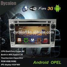 Opel zafira araç ses sistemi/için oto dvd navigasyon opel zafira/opel zafira araç multimedya oynatıcı