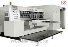 Giga lx più alto tech utilizzare/forma diversa e dimensione box/cartone della pizza di carta che fa macchina