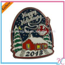 Advertising high quality pin badge as gifts / enamel badge / pin