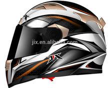 2014 New doul visor full face helmet motorcycle helmets Brand JX-FF002 motor casco