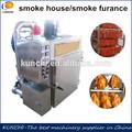 Plc professionnel de la viande fumée four / fumer maison de machine à