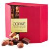 2014 new matt red gift paper box for chocolate