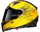 2014 ECE/DOT full face motorcycle helmets unique double visor motorcycle helm JX-FF001