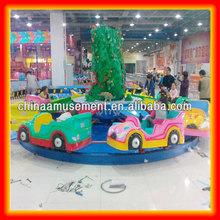 Children games kids revolving car carousel for sale