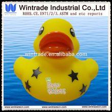 Promocional pato de borracha com logotipo, Pato de borracha pvc, Banho de borracha patos brinquedos