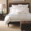 luxury nobleness taupe cotton used five star hotel bed sheets