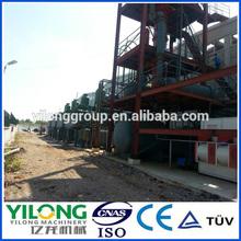 most advanced small energy saving safe plastic oil refinery machine