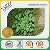 Chinese herb medicine natural aphrodisiac 3%-40% irariin horny goat weed extract/epimedium extract icariin