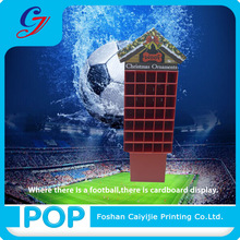 multiple pocket corrugated cardboard shop flooring display