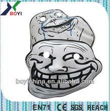 Custom 3D masks PVC Halloween masks for wholesale