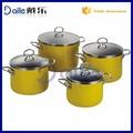4 pcno- palo de archivo pot/sopa de olla de valores/mango de acero inoxidable de archivo pot