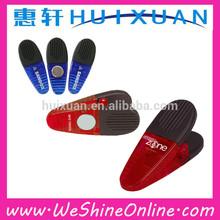 crocodile mouth magnetic fridge paper clips / plastic magnet clip for promotion