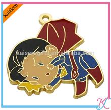 Personality Reuseable Metal Badge / enamel badge pin for gifts