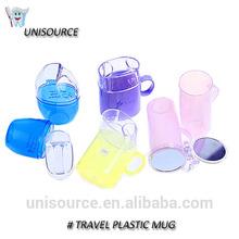 Personal customized travel Plastic Mug