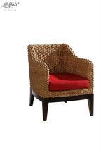 modern natural Rattan Dining armchair