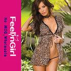 wholesale fashion cheap leopard hot sexy girls babydoll nighty