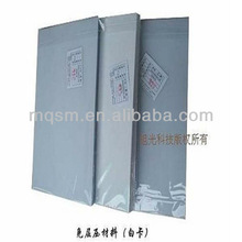 high glossy silver flash solid color pvc lamination sheet for carbinet with protect film from Taiwan
