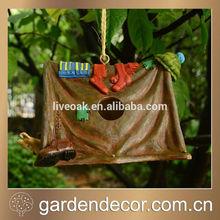 Garden Bird House, Decorative Camping Birdhouses, Resin Bird Houses