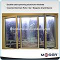 imágenes de aluminio de la ventana y la puerta de ahorro de energía