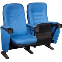 Comfortable plastic theater seating