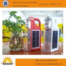 2014 convenient solar camping led solar light