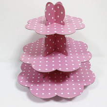Customized Hight Quality Cupcake Stand for Kids Birthday Decorations