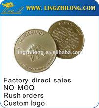 Custom fake krugerrand gold palted tungsten coins