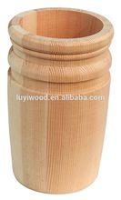 Wooden promotional pen/pencil pen container