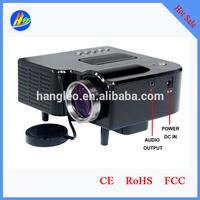 DLP LED Shutter 3D HD Projector 2D Convert to 3D Multimedia Video Home Theater 3D HD Projector 1080P