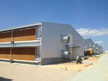 Controllable cheap prefab poultry house for sale