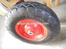 "wheels direct manufactures for pu foam wheel,PU foam flat free wheel 6""-18"""