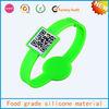 sedex audit promotional branded most special qr code silicone bracelet