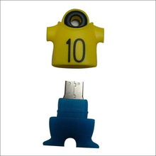 Customize 2014 world cup t-shirt shape bottles usb flash drive, branded usb flash drive for dental promotional gift LFWC-08