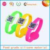 hot product silicone bracelet qr code custom,bracelet qr