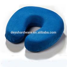 Memory form Neck Pillow U-shape Inflatable Travel Pillow