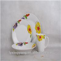 ceramic dinner set box packing,wholesale ceramic white dinner plate,white porcelain wholesale dinner plates