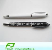 custom logo plastic twist ball pen