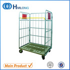 Logistics transportation metal rolling security storage cage