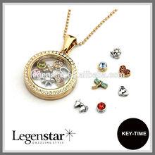 2014 fashion glass locket pendants