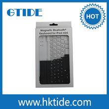2014 Gtide well designed lifeproof wholesale mini bluetooth keyboard for apple ipad mini