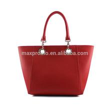 2014 New Design Fashion Supplier Leather Women Tote Bag Ladies Handbag