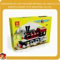 Set De Bloques de Juguete Educativo Para Niños, Tren Plástico Bloques de Juguete Para Niños
