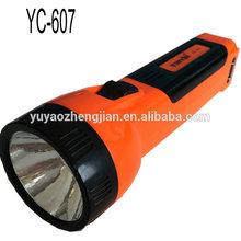 YC-607 solar high power led torch light