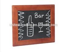Bar wooden drawing board