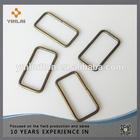 Handle metal plate buckles loops for bags